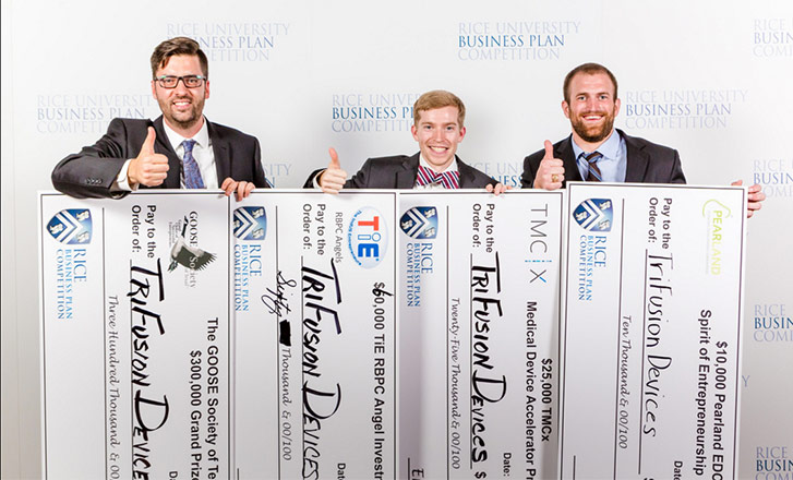 TriFusion Devices from Texas A&M wins 2016 Rice Business Plan Competition